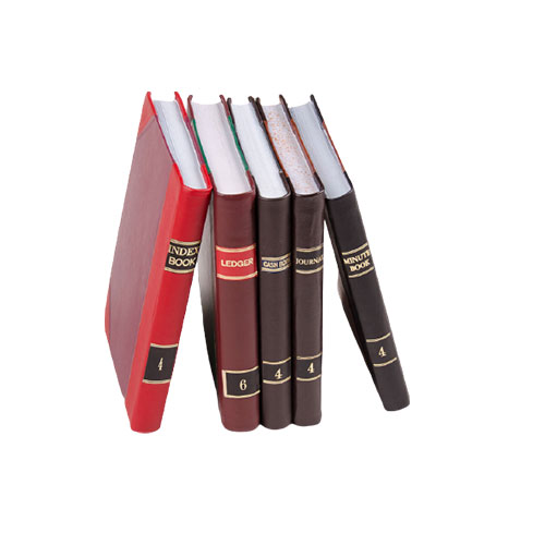 Falcon Ledger, Cash and Journal Leather Books