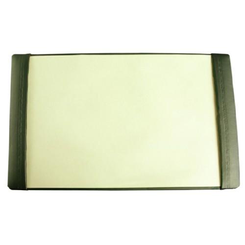 boadroom desk-blotter-side-strips-leather