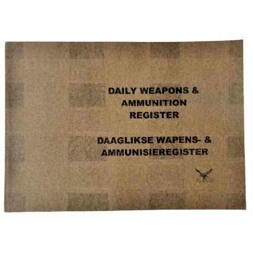 Daily Weapons Register Cover