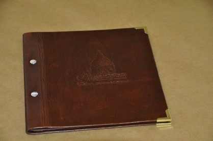 A Blind Embossed Cover